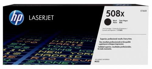 Tóner HP 508X Negro, 12.500 Páginas ― ¡Compra y recibe 5% del valor de este producto en saldo para tu siguiente pedido!