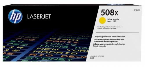 Tóner HP 508X Amarillo, 9500 Páginas