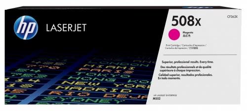 Tóner HP 508X Magenta, 9500 Páginas