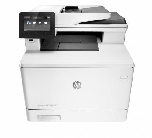 Multifuncional HP LaserJet Pro MFP M477fnw, Color, Láser, Inalámbrico, Print/Scan/Copy/Fax