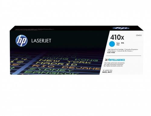 Tóner HP 410X Cyan, 5000 Páginas