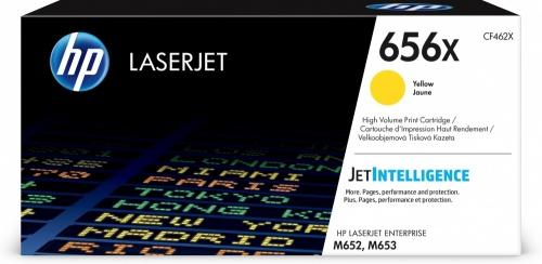 Tóner HP 656X Alto Rendimiento Amarillo, 22.000 páginas