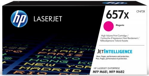 Toner HP 657X Alto Rendimiento Magenta, 23.000 páginas