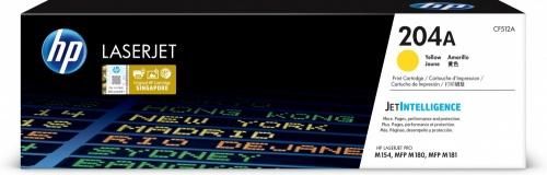 Toner HP 204A Amarillo, 900 Páginas
