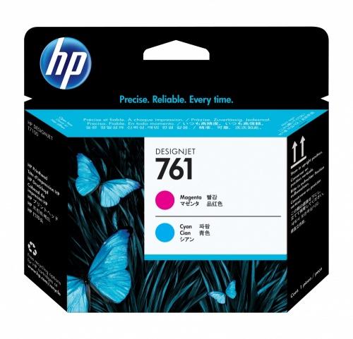 Cabezal HP 761 Magenta/Cyan