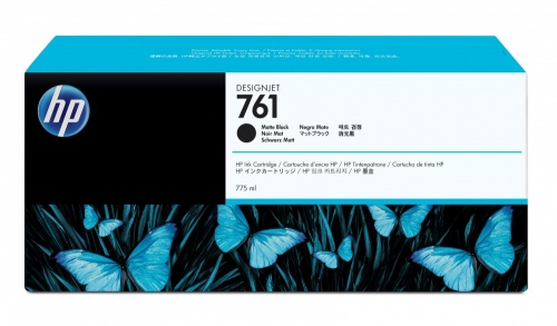 Cartucho HP 761 Negro Mate 775ml