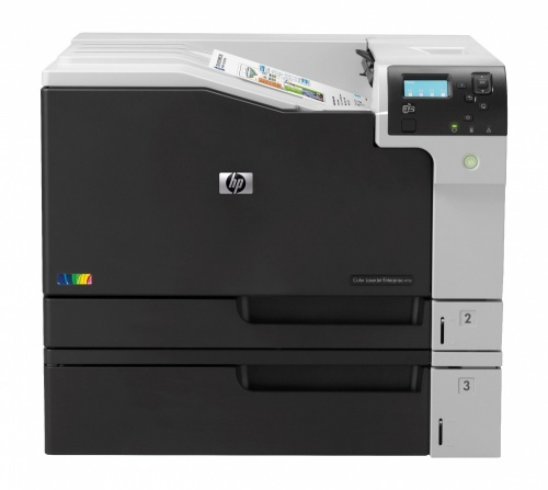 HP LaserJet M750dn, Color, Láser, Print