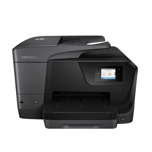 Multifuncional HP Officejet Pro 8710, Color, Inyección, Inalámbrico, Print/Scan/Copy/Fax