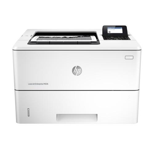 HP LaserJet Enterprise M506dn, Blanco y Negro, Láser, Print