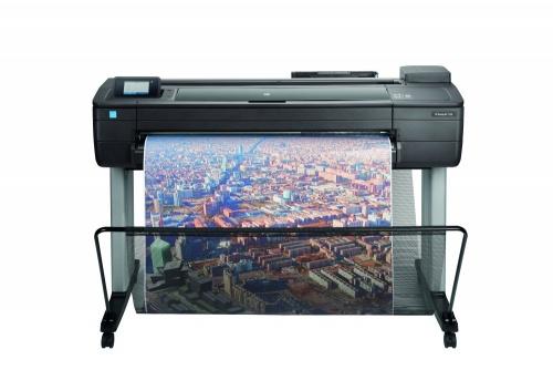Plotter HP DesignJet T730 36'', Color, Inyección, Inalámbrico, Print