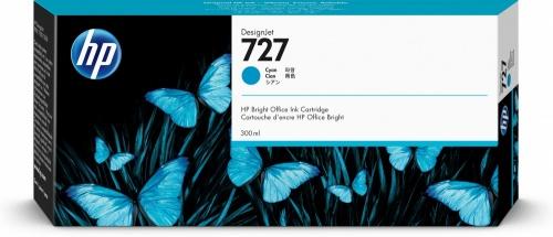 Cartucho HP 727 Cyan 300ml