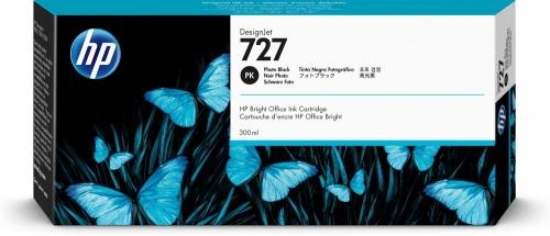 Cartucho HP 727 Negro Fotográfico 300ml