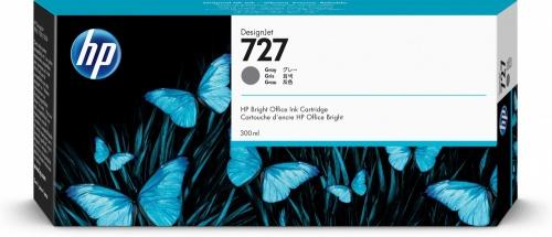 Cartucho HP 727 Gris 300ml