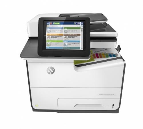 Multifuncional HP PageWide Enterprise 586dn, Color, Inyección, Print/Scan/Copy