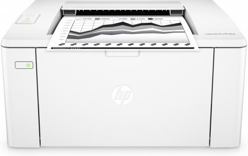 HP LaserJet Pro M102w, Blanco y Negro, Láser, Inalámbrico, Print