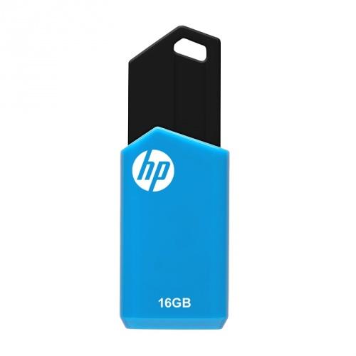 Memoria USB HP v150w, 16GB, USB A, Negro/Azul