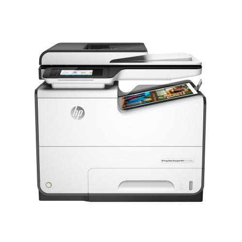 Multifuncional HP P57750dw, Color, Inyección de Tinta, Inalámbrico, Print/Scan/Copy/Fax