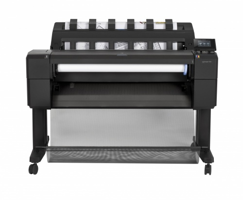 Plotter HP DesignJet T930 36'', Color, Inyección, Print ― Incluye una Pantalla LED Hisense 50