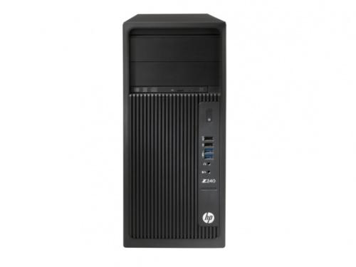 HP Z240, Intel Xeon E3 v6 3 GHz, 16GB, 2TB, Windows 10 Pro 64-bit