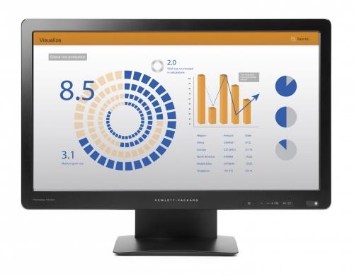 """Monitor HP P202va LED 19.5"""", FullHD, Widescreen, Negro"""