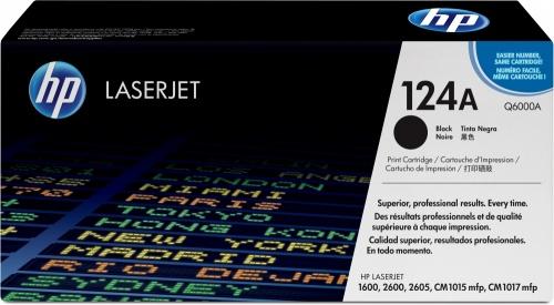New Compatible Black Toner Cartridge for HP 124A Q6000A LaserJet 1600 2600 2605