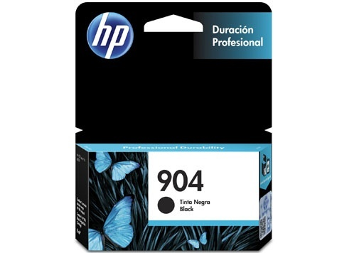 Cartucho HP 904A Negro, 300 Páginas