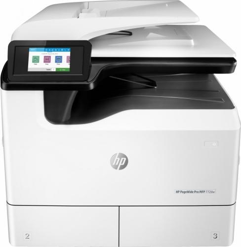 Multifuncional HP PageWide Pro 772dw, Color, Inyección, Inalámbrico, Print/Scan/Copy/Fax