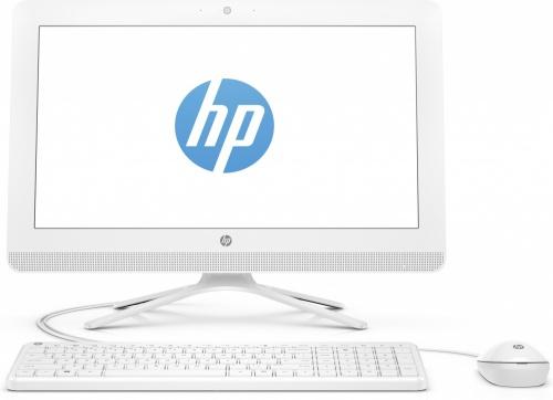"""HP 20-c206la All-in-One 19.4"""", AMD A4-7210 1.80GHz, 4GB, 1TB, Windows 10 Home 64-bit, Blanco"""