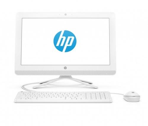 HP 20-c216la All-in-One 19.5'', Intel Pentium J3710 1.60GHz, 8GB, 2TB, Windows 10 Home 64-bit, Blanco