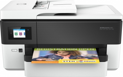 Multifuncional HP OfficeJet Pro 7720, Color, Inyección, Inalámbrico, Print/Scan/Copy/Fax