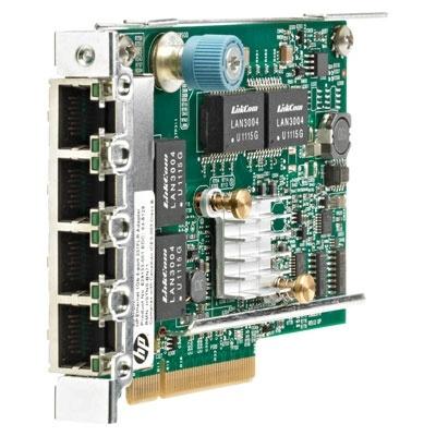 HPE Tarjeta de Red 629135-B22 de 4 Puertos, 1000 Mbit/s, PCI Express