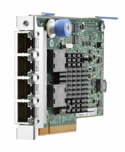 HPE Tarjeta de Red 665240-B21 de 4 Puertos, 1000Mbit/s, PCI Express