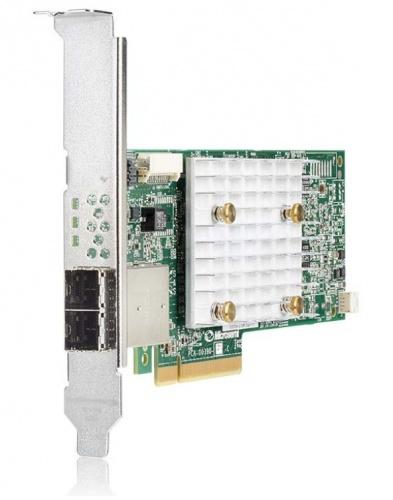 HPE Tarjeta Controladora RAID Smart Array P408e-p SR Gen10, PCI Express, SAS, 12 Gbit/s