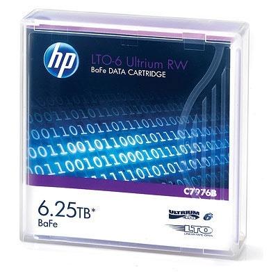 HPE Soporte de Datos LTO  Ultrium RW, 6250GB, 846 Metros