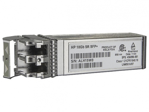 HPE Módulo Transceptor BladeSystem c-Class 10Gb SFP+ SR, 10000 Mbit/s, LC Multimodo, 850nm