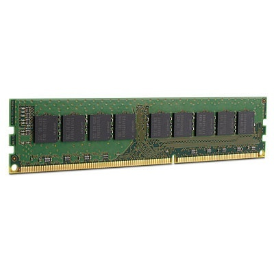 Memoria RAM HPE DDR3, 1600MHz, 2GB, CL11, Unbuffered, Single Rank x, para ProLiant DL380p Gen8
