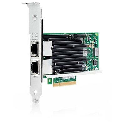 HPE Tarjeta PCI Express 716591-B21, Alámbrico, 2x RJ-45, 10000 Mbit/s