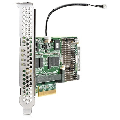 HPE Controlador SAS Smart Array P440/4 GB, FBWC, 12 Gbit/s, 1 Puerto Interno PCI Express x8