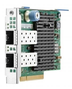 HPE Tarjeta de Red 727054-B21 de 2 Puertos, 10.000Mbit/s, PCI Express