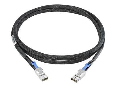 HPE Cable SAS Macho - SAS Macho, 1 Metro, Negro