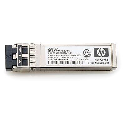 HPE Transceptor FC SFP+ de Onda Corta 8Gb, 1 Paquete