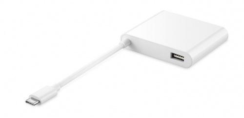 Huawei Adaptador Matedock 2 AD11 USB Tipo C Macho - HDMI/VGA/USB A Hembra, Blanco