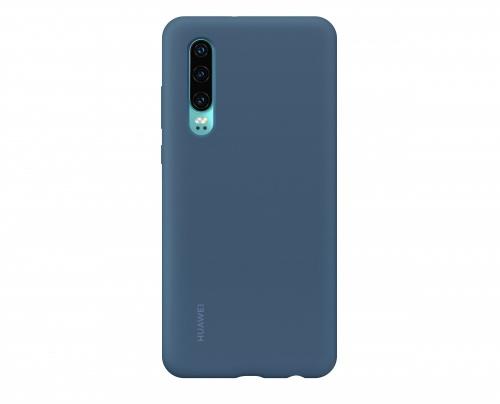 Huawei Funda 51992850 para P30, Azul, Resistente a Rayones/Golpes