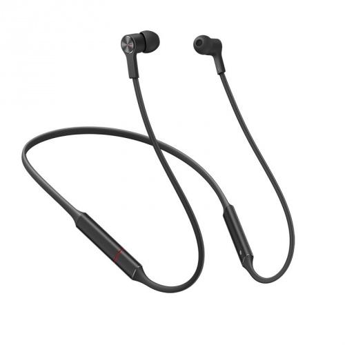 Huawei Audífonos Intrauriculares con Micrófono FreeLace, Inalámbrico, Bluetooth, Negro