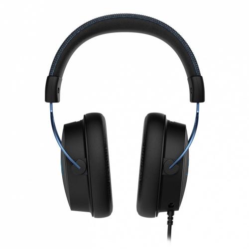 HyperX Audífonos Gamer Cloud Alpha S 7.1, Alámbrico, 1 Metro, 3.5mm, Negro/Azul