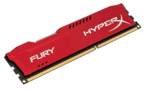 Memoria RAM HyperX FURY Red DDR3, 1600MHz, 4GB, Non-ECC, CL10