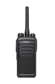 Hytera Radio Digital Portátil de 2 Vías PD506V UL913, 256 Canales, Negro