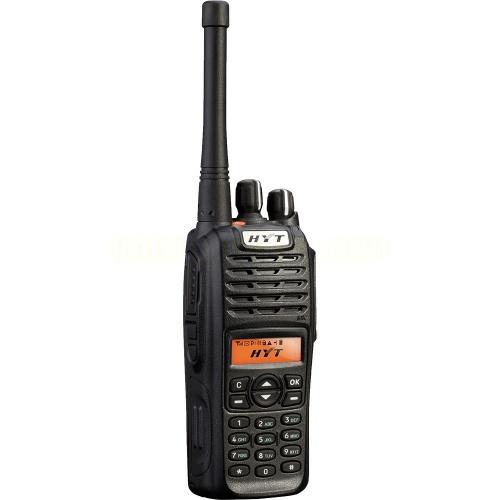 Hytera Radio Análogo Portatil TC-780UHF, Negro
