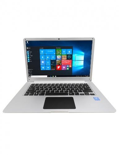 Laptop Hyundai Onnyx II 14.1'' Full HD, Intel Celeron N3450 1.10GHz, 4GB, 500GB, Windows 10 Home 64-bit, Plata
