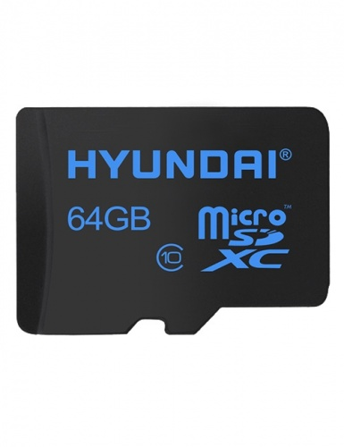 Memoria Flash Hyundai, 64GB MicroSDXC Clase 10